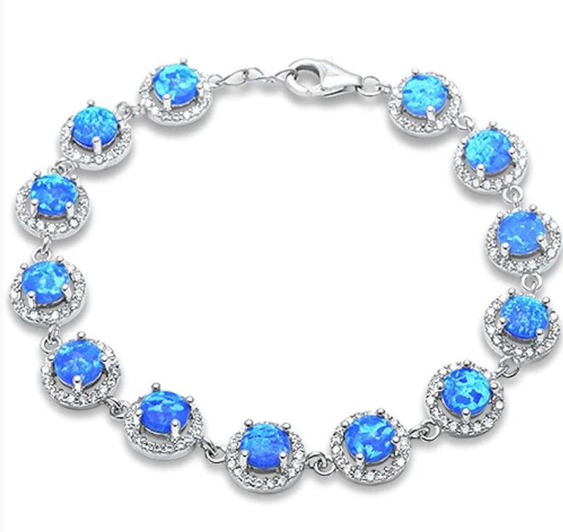 Strieborný náramok s opálom-236602-312