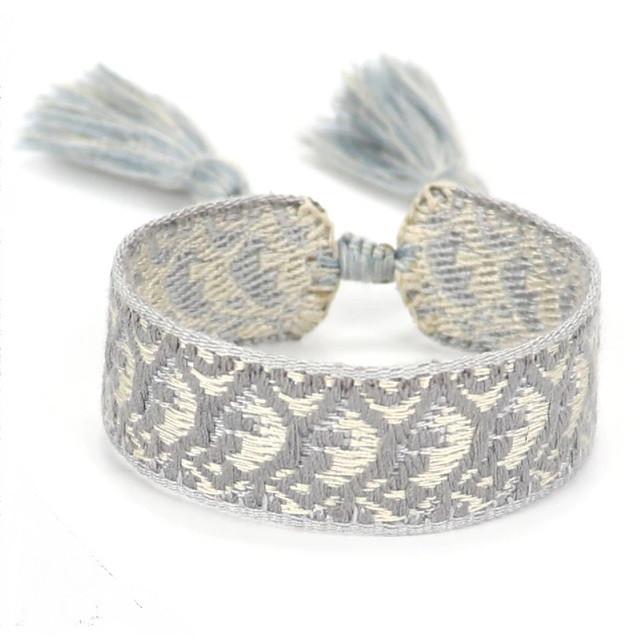 Bavlnený pletený náramok-244827-37