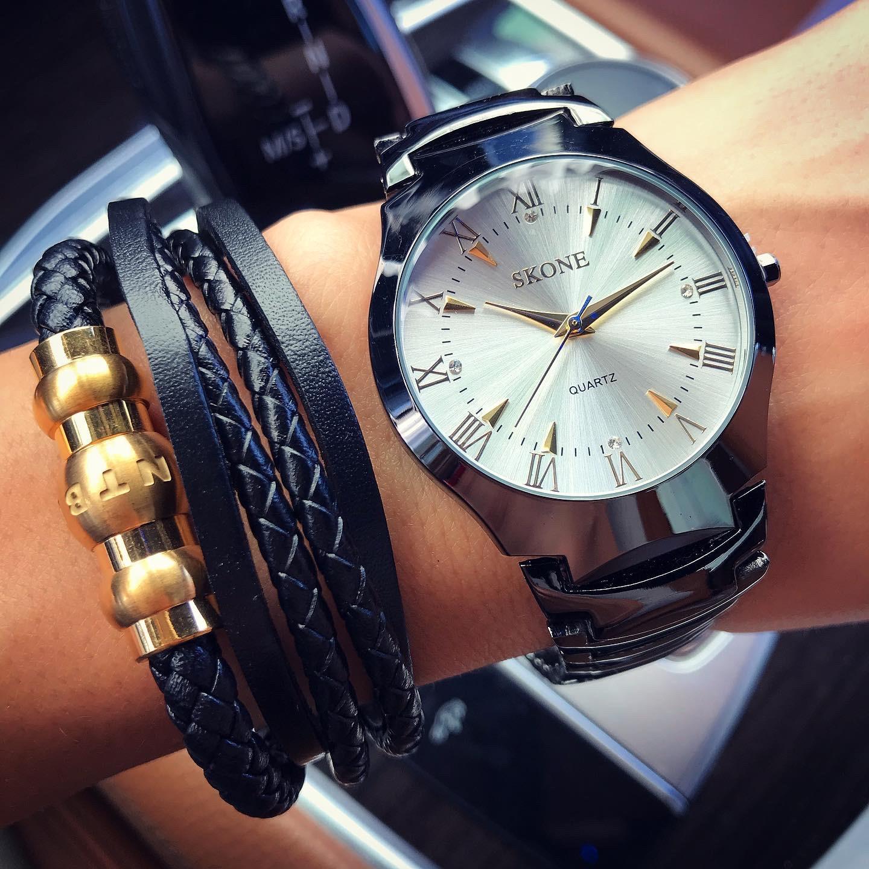 Pánske hodinky SKONE-193808-31