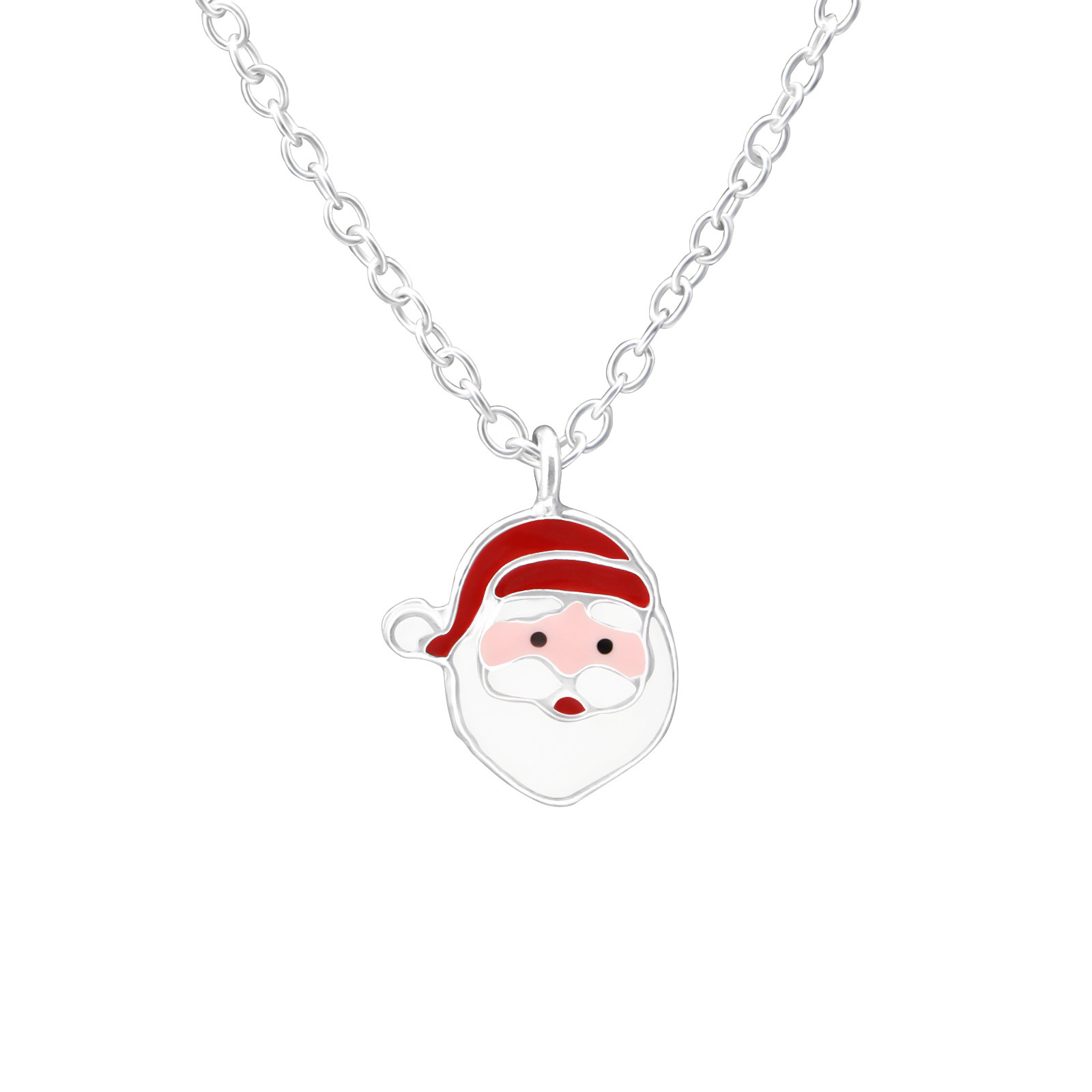 Strieborný náhrdelník Mikuláš-223391-32