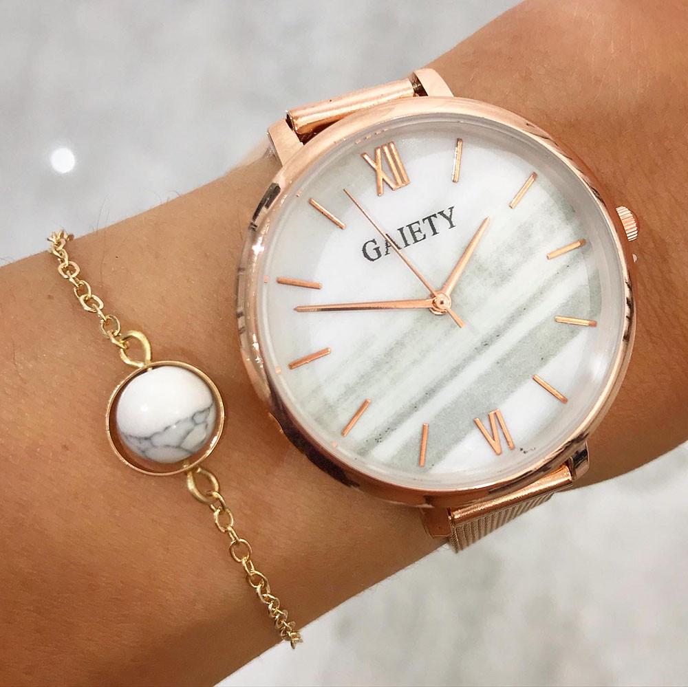 Dámske hodinky+ bižu náramok-212121-31