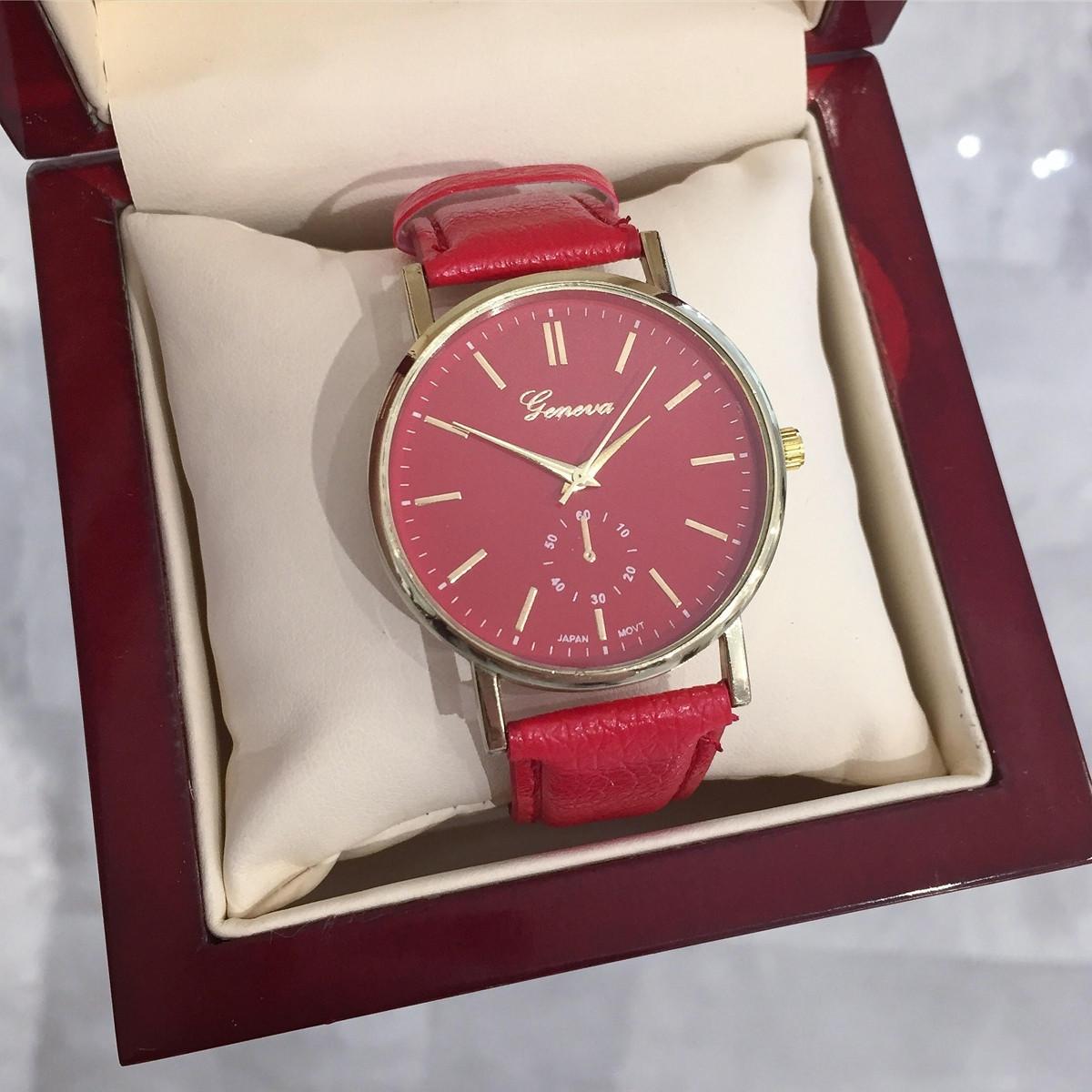 Dámske červené hodinky-138284-31 033949fbda6
