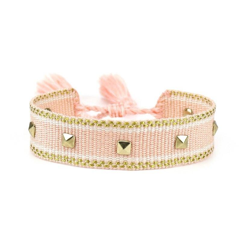 Bavlnený pletený náramok-244823-33