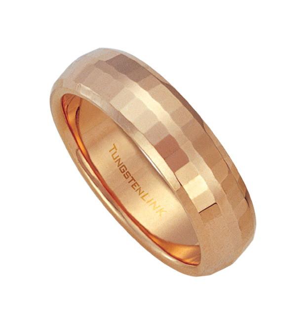Tungsten prsteň