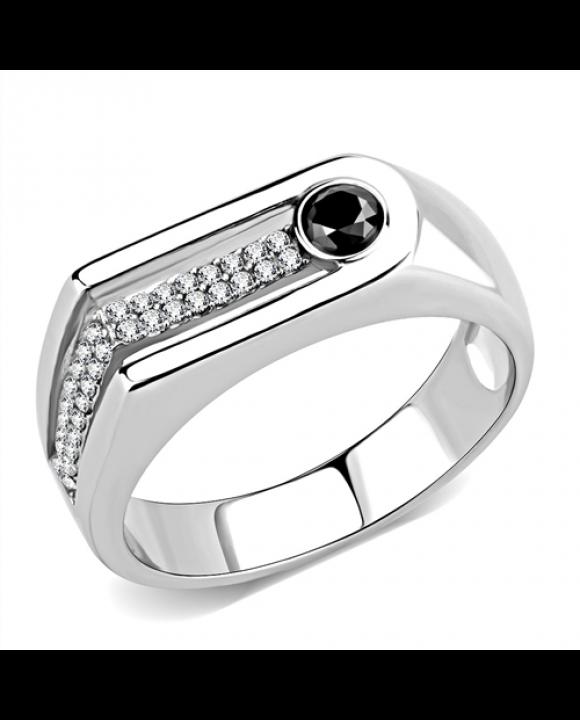 Pánsky oceľový prsteň