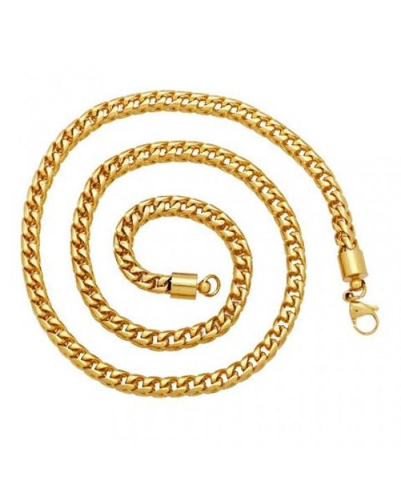 Pánsky pozlátený náhrdelník-163775-20