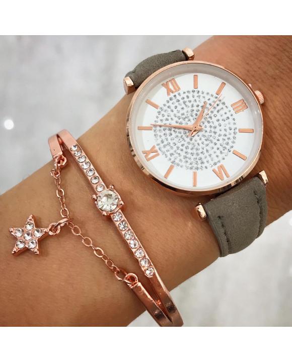 Dámske hodinky+ bižu náramok-212051-20