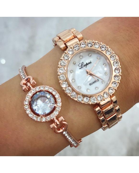 Dámske hodinky+ bižu náramok-212672-20