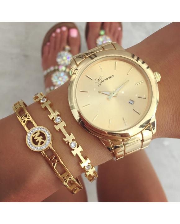 Zlaté hodinky Geneva