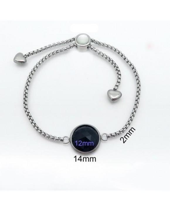 Dámsky oceľový náramok-204719-20
