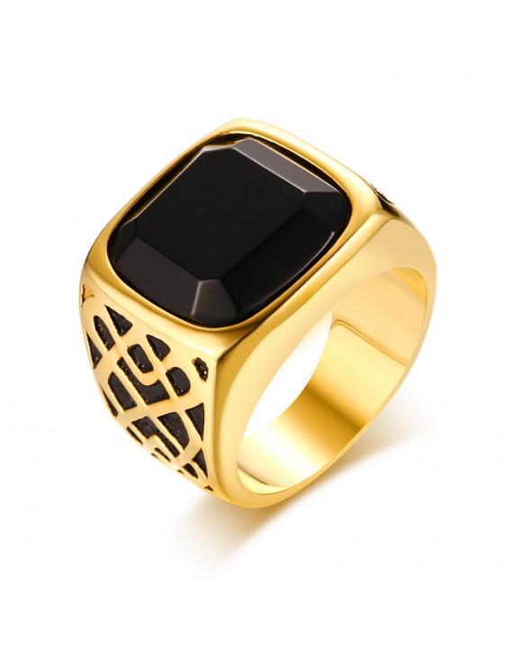 Pánsky pozlátený prsteň-162922-20