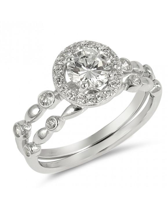 Strieborný prsteň-203140-20