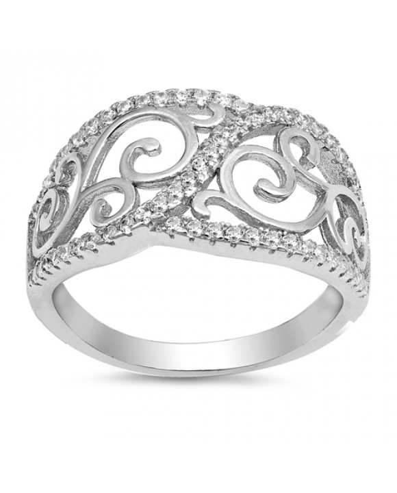 Strieborný prsteň-166173-20