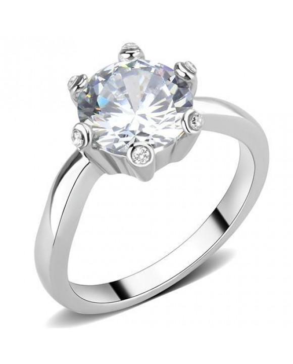 Dámsky oceľový prsteň-214114-20