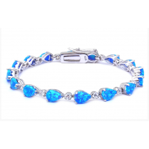 Strieborný náramok s opálom-236595-09