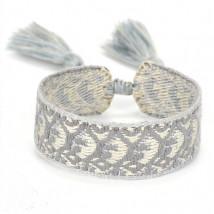 Bavlnený pletený náramok-244827-07