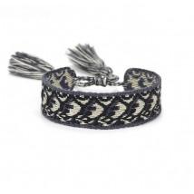 Bavlnený pletený náramok-244828-08