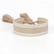 Bavlnený pletený náramok-244825-05