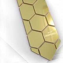 Kravata Gold Hive-182090-01