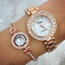 Dámske hodinky+ bižu náramok-212672-01