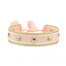 Bavlnený pletený náramok-244823-03