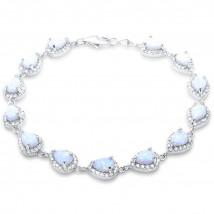Strieborný náramok s opálom-236604-014