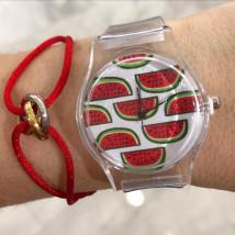 Priesvitné gumené hodinky-246045-08