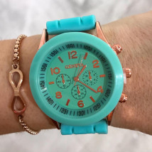 Farebné gumené hodinky-246029-07