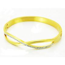 Dámsky oceľový náramok-255952-011