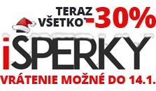 i sperky . sk - vianočná akcia